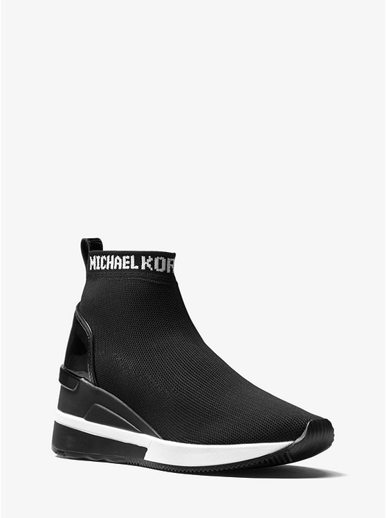 934a4c79bb7 Skyler Logo Stretch-knit Sock Sneaker