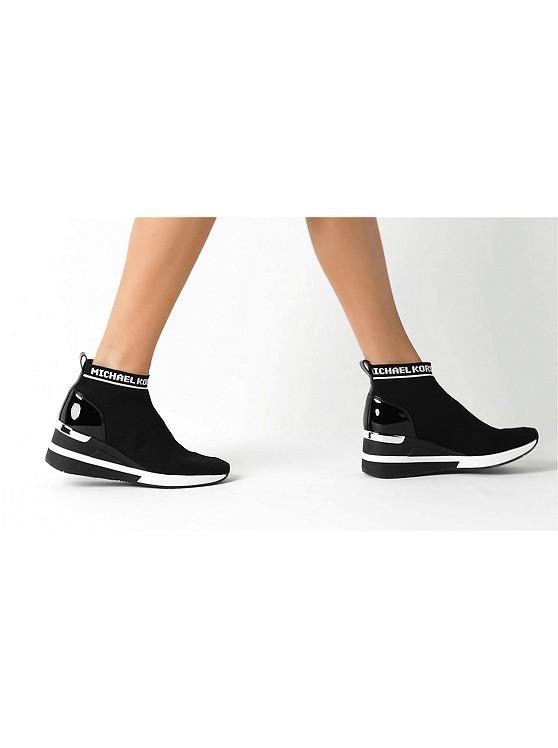 f96a01d7d821 Skyler Logo Stretch-knit Sock Sneaker