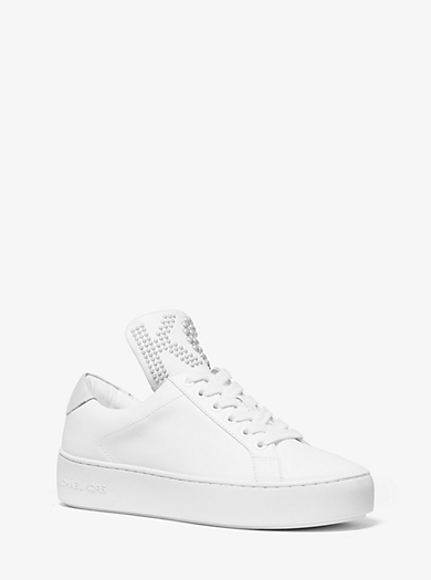 cc2f6302d83 Mindy Studded Leather Sneaker. michael michael kors ...