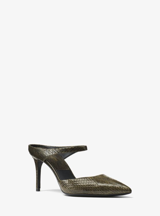 Helene Snakeskin Pump by Michael Kors Collection