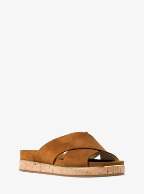 Lily Suede Sandal | Michael Kors