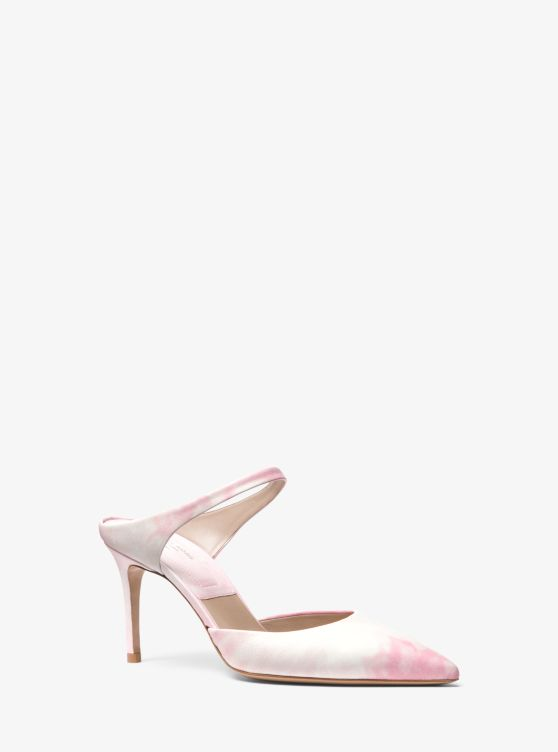 Helene Tie-Dye Leather Pump