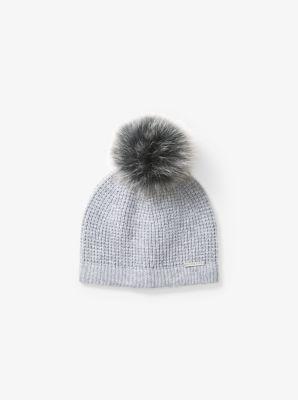 Pom-Pom Wool Beanie  9ad39ffd371