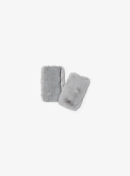 마이클 마이클 코어스 에코퍼 핑거리스 장갑 Michael Michael Kors Faux Fur Fingerless Gloves