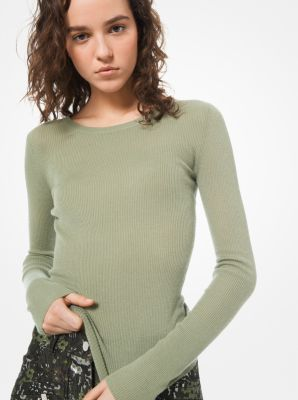 939a57a8adc5c Featherweight Cashmere Sweater | Michael Kors