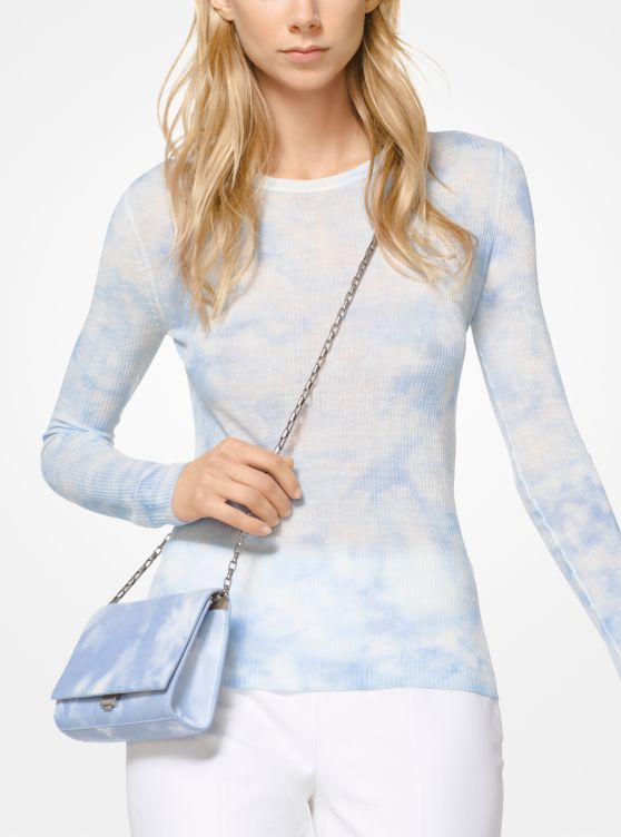 Tie Dye Viscose And Linen Pullover by Michael Kors Collection
