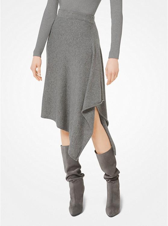Cashmere Blanket Skirt