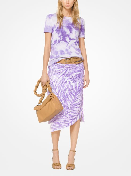 Tie Dye Cashmere T Shirt by Michael Kors Collection