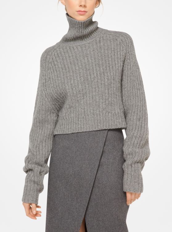 Cashmere and Mohair Pullover