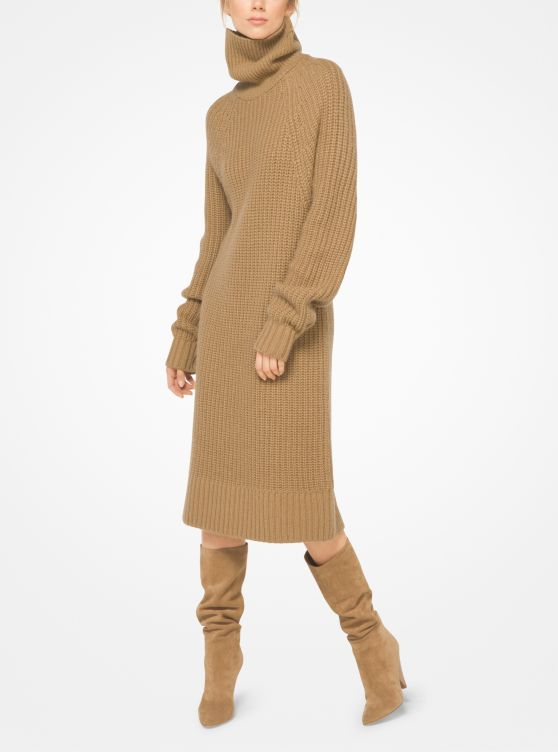 Cashmere and Mohair Sweater Dress