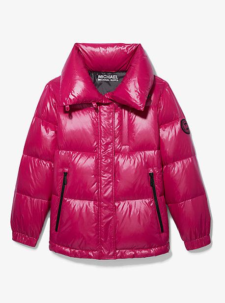 마이클 마이클 코어스 발수 경량 숏패딩 - 4 컬러 Michael Michael Kors Quilted Nylon Puffer Jacket