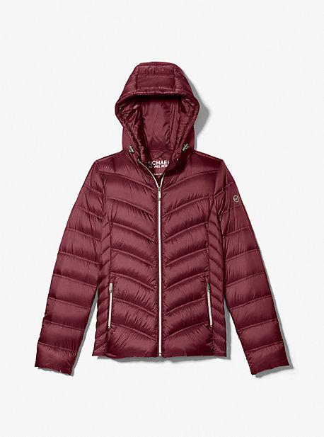 마이클 마이클 코어스 숏패딩 Michael Michael Kors Quilted Nylon Packable Puffer Jacket