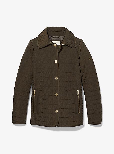 마이클 마이클 코어스 퀼팅 반 자켓 Michael Michael Kors Quilted Barn Jacket