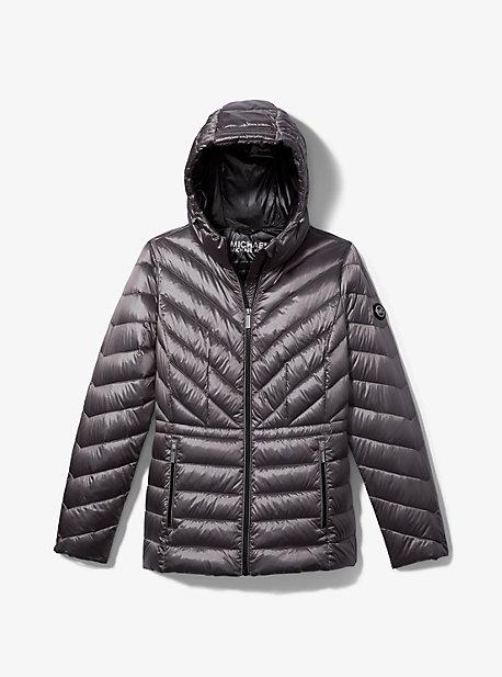 마이클 마이클 코어스 숏패딩 Michael Michael Kors Packable Puffer Jacket