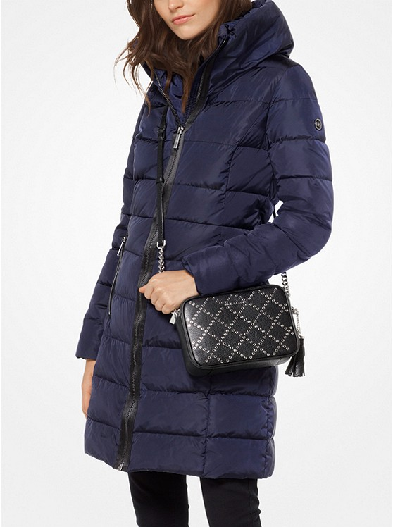 Quilted Nylon Down Coat Michael Kors