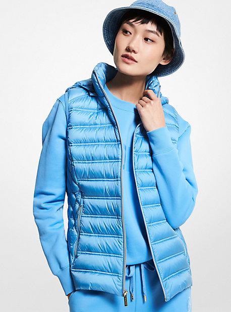 마이클 마이클 코어스 패커블 패딩 조끼 - 2 컬러 Michael Michael Kors Quilted Nylon Packable Puffer Vest