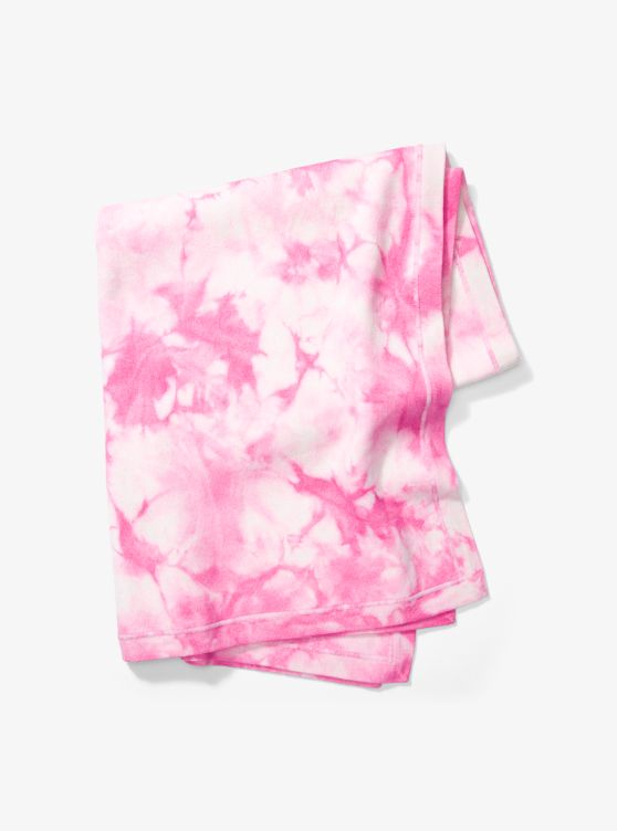 Tie Dye Cashmere Blanket by Michael Kors Collection