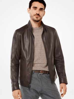 7be173a76 Leather Racing Jacket