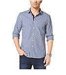 Check-Print Cotton Shirt