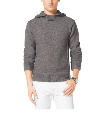 Hooded Wool-Blend Sweater | Michael Kors