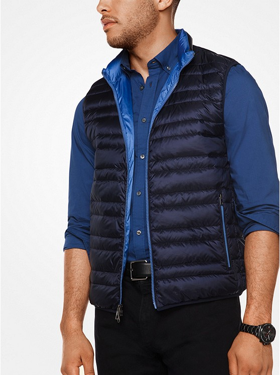 Quilted-Nylon Vest