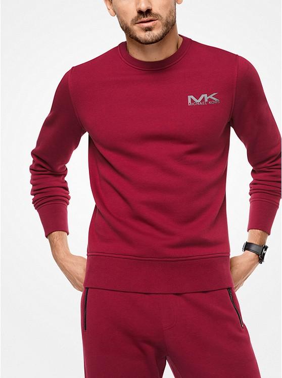 Logo Cotton-Blend Pullover