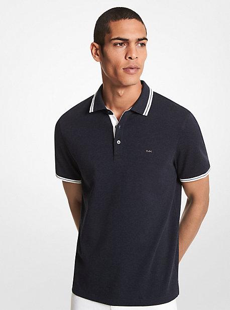 마이클 코어스 맨 폴로 셔츠 Michael Kors Greenwich Cotton Polo Shirt