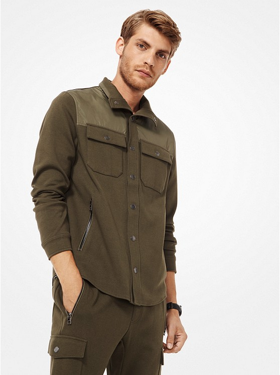 Michael Kors Men's Ponte Field Jacket