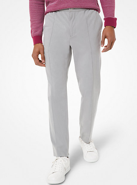 Cotton Blend Hybrid Pants Michael Kors