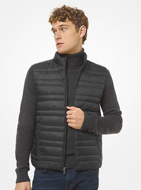 마이클 코어스 맨 조끼 Michael Kors Quilted Puffer Vest