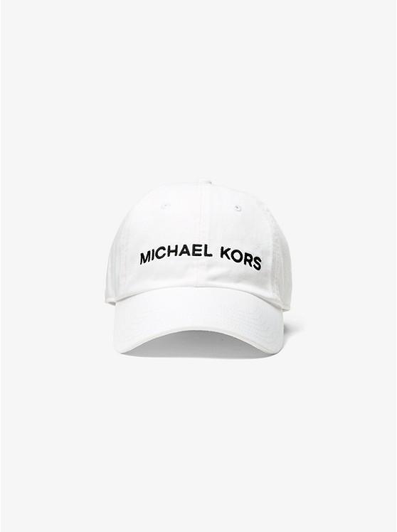 c4014cfc67 Cappellino In Cotone Con Logo | Michael Kors
