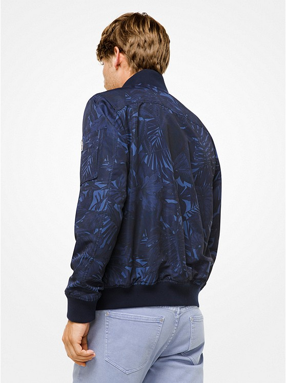 Tropical Tech Bomber Jacket