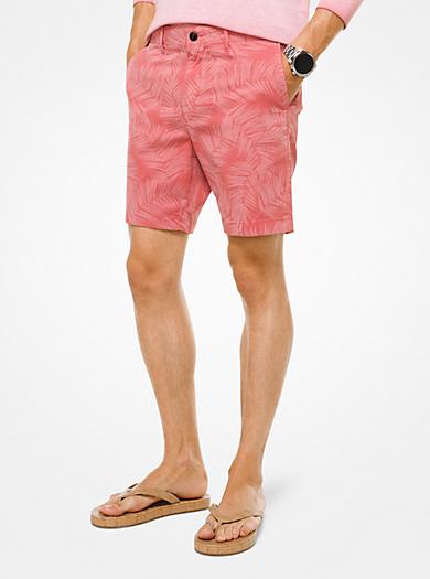 Stretch Cotton Shorts Spring/summer Michael Kors LGnHfkFeb