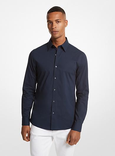 Button Down Dress Shirts Mens Clothing Michael Kors