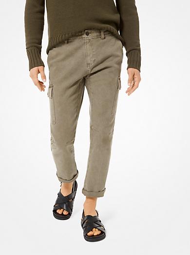 99ae51655ed91 Cotton-Twill Cargo Pants. michael kors mens · Cotton-Twill Cargo Pants