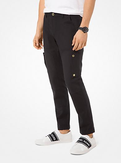 82391c8bfbdce Stretch-Cotton Cargo Pants. michael kors ...