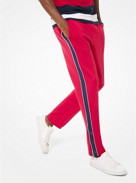 Pantalón deportivo de neopreno con rayas en contraste ... f5f61bdfb4dd