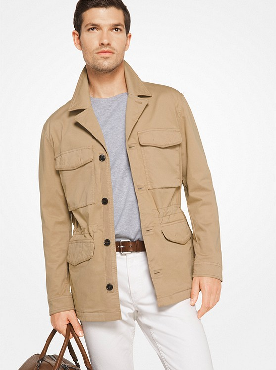 Cotton-Twill Field Jacket