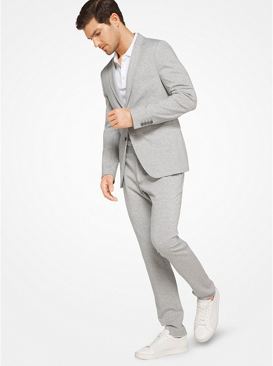 Slim-Fit Ponte Blazer