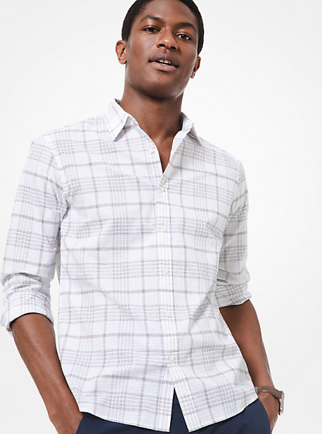 08dffcb4a Button Down & Dress Shirts | Men's Clothing | Michael Kors