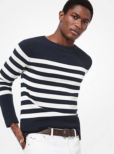 e29a0d61ef Pullover in cotone a righe. michael kors mens · Pullover in cotone ...