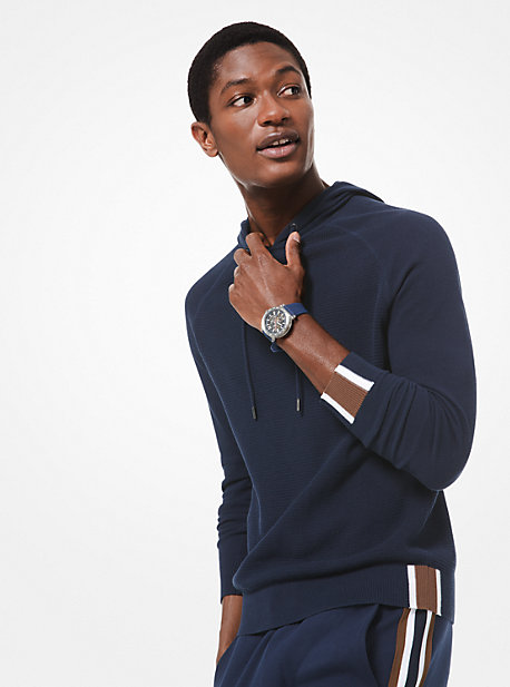 a2887f45d60266 michael kors mens · Striped Cotton Sweater · $148.00$148.00 · Textured-Knit  Cotton Hoodie