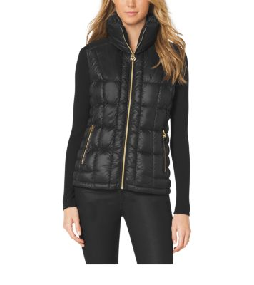 Quilted Puffer Vest Michael Kors