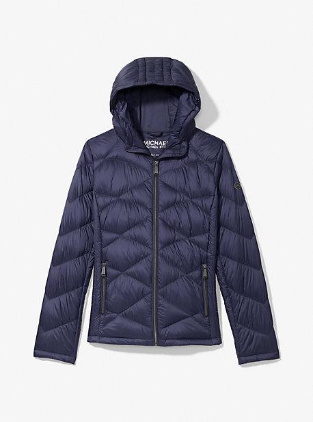 마이클 마이클 코어스 퀼팅 패커블 푸퍼 자켓 Michael Michael Kors Quilted Nylon Packable Puffer Jacket