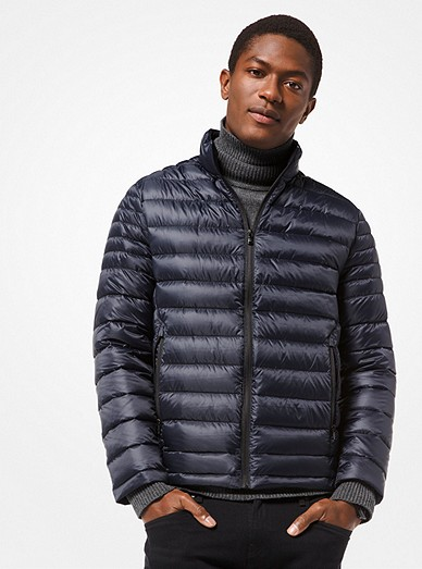 193d5c1752e0 Quilted Nylon Packable Down Jacket