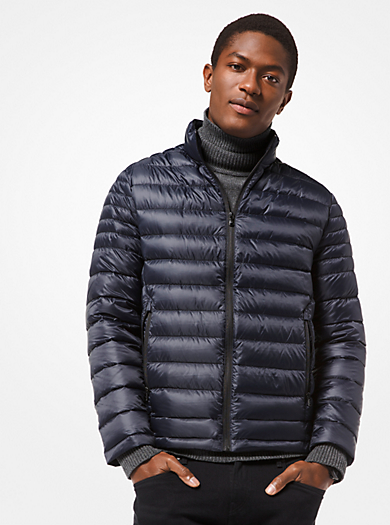 michael kors mens · Quilted Nylon Packable Down Jacket ff14e229a208