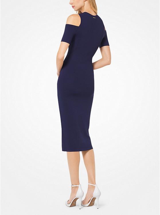 6e3eea01cb58 Stretch-Viscose Peekaboo Midi Dress Stretch-Viscose Peekaboo Midi Dress