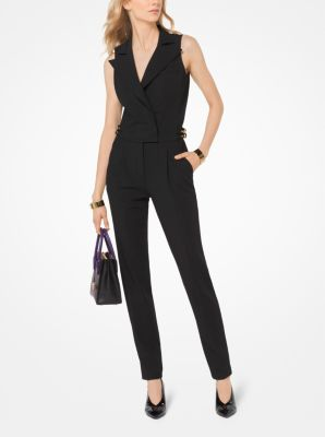 Stretch Twill Jumpsuit by Michael Michael Kors