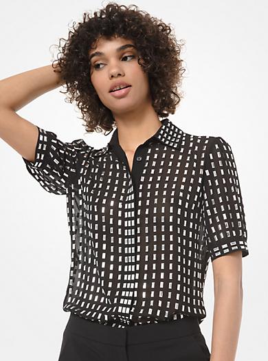 designer fashion 7daf6 aca79 Top E Camicie Da Donna Firmati | Michael Kors