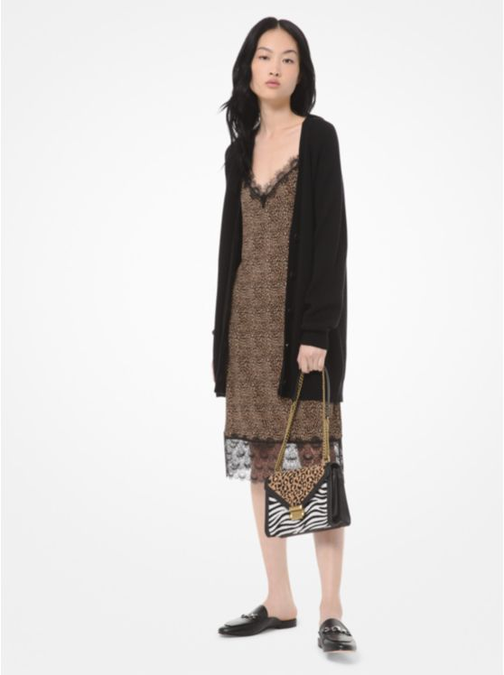 Wool and Cotton-Blend Cardigan